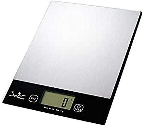 Jata Hogar MOD. 780 Balanza Electrónica, Gris Metalizado y Negro