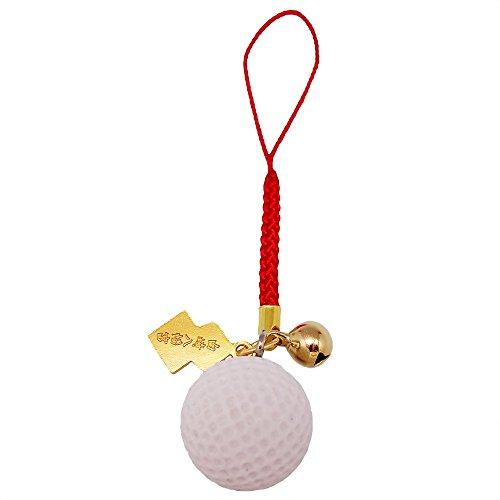 スポーツ上達お守り ゴルフ Golf 根付タイプ 白崎八幡宮で祈願済みのお守り