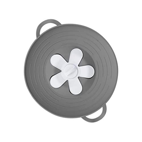 MagiDeal Coperchio tappo per fuoriuscite da 10,2 pollici, coperchio antispruzzo, per pentole a vapore per alimenti Strumento da cucina senza BPA Coperchio di