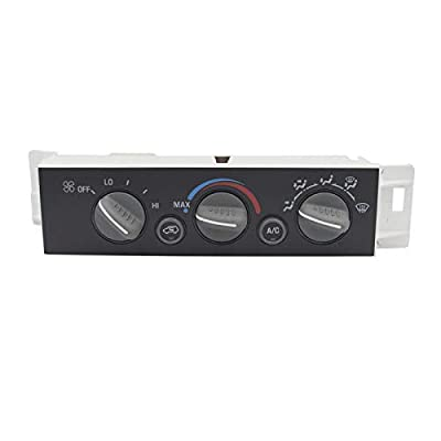 MOCW 9378815 15-72548 599-007 AC Heater Control Panel Climate Control Module without Rear Window Defogger for 1996-1999 Chevy Truck GMC C1500 C2500 C3500 K1500 K2500 K3500 Truck 16231175