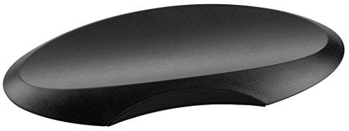 HAN Ablageschale DELTA 1750-13 in Schwarz für Stifte / Formschöne ovale Stiftablage aus hochwertigem Kunststoff / Elegantes Büro Zubehör