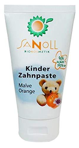 Sanoll Kinder Zahnpaste Minze-Orange 75 ml