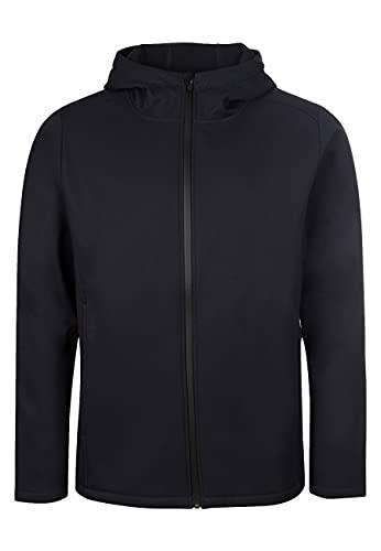 ELKLINE Herren Softshelljacke Serious 1013045, Farbe:black, Größe:XL