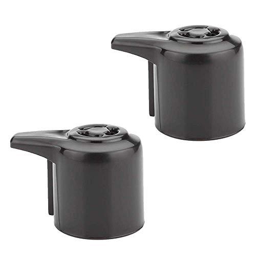 Paquete de 2 accesorios de repuesto de mango de liberación de vapor para Instant Pot Duo/Duo Plus 3, 5, 6 y 8 cuartos de galón