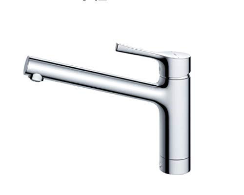 台付シングル混合水栓(エコシングル、共用) TKS05301J