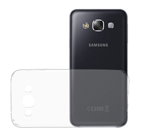 Oats Samsung E5 0,3 mm Hülle TPU Hülle Schutzhülle Silikon Crystal Hülle Durchsichtig Extrem Dünn Ultra durchsichtig - von OKCS