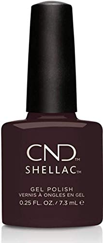 CND Creative Shellac UV Power Polish - Forbidden Collection - Dark Dahlia 7.3ml