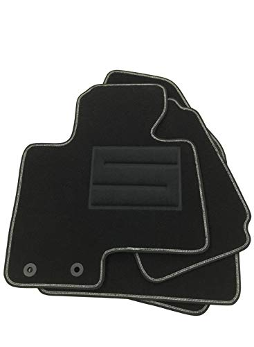 ASC HIUNDAY IX35 2009-2015 tappeti Auto tappetini con Bottoni e battitacco elettrosaldato