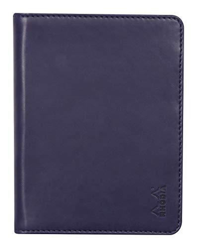 Rhodia 212005C - Libreta portabloc o cuaderno Rhodiarama – N° 12 azul noche para formato B7 (8,5 x 12 cm) 10,5 x 14 cm