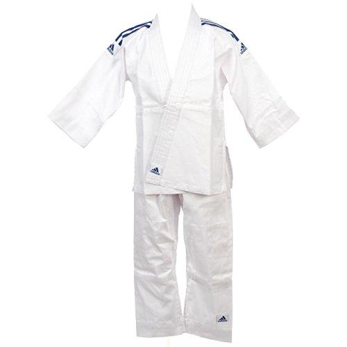 Adidas Judo- Kimono Evolution (mit weißem Gürtel) J200–ADIJ200E, weiß - weiß - Größe: 120/130