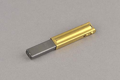 Brosse en Carbone avec Support 6,2 x 11 x 34 mm pour Aspirateur ZELMER 321/400 / 1500/3000 - A57