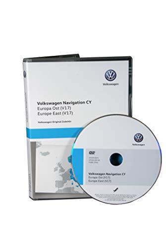 VW Navi Software Update Europa Ost 2020 1T0051859AR V17 für RNS 510 und RNS 810 Volkswagen Original DVD-ROM