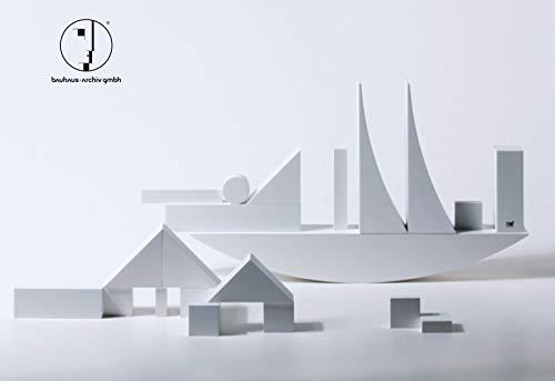 Naef Bauhaus Bauspiel, 22 Teile in Sonderedition weiß