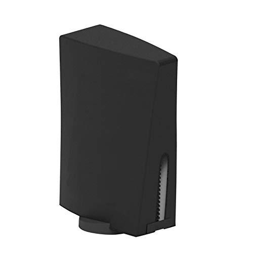 haptern Estuche a Prueba de Polvo para PS5 Estuche Protector para PS5 Estuche antiarañazos Negro cómodo y Suave para 5 Consolas Edición Digital y edición Regular apposite