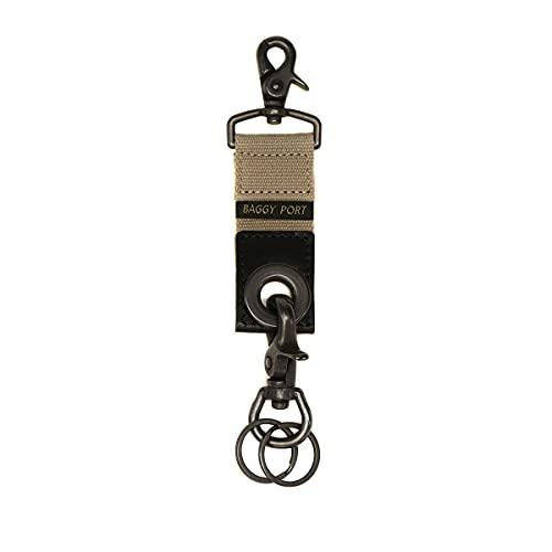 [バギーポート]BAGGY PORT Military Key Holder グロメットキーホルダー GRN-520 グレー