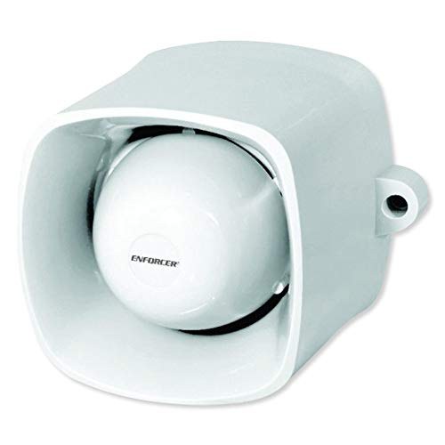 Lowest Price! Seco-Larm SH-816S-BQ Self-Contained Siren, 120dB Warble-Tone Siren, 25W Speaker, Audio...