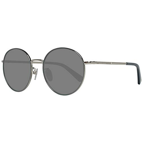 Diesel Sonnenbrille DL0246-K 5624C Gafas de sol, Plateado (Silver), 56.0 Unisex Adulto