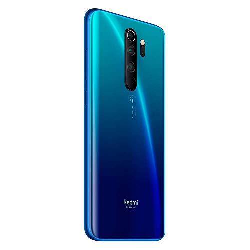 Xiaomi Redmi Note 8 Pro - Smartphone Débloqué 4G (6.53 Pouces - 6Go RAM - 128Go Stockage - Double Nano-SIM, Quad Caméra – NFC) Bleu - Version Française - [Exclusivité Amazon]