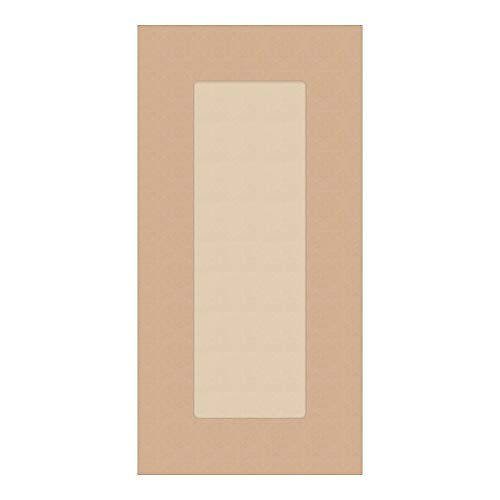 Kendor Unfinished MDF Shaker Cabinet Door, 18H x 9W