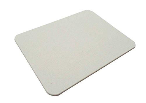 オーエ 瞬乾力 バスマット L ホワイト 約60×45×0.9cm バーミキュライト 珪藻土 日本製