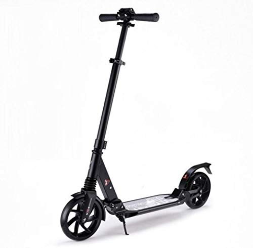 Best Prices! JBHURF Adult Pedal Scooter Two-Wheel Damping Scooter Adjustable Collapsible Scooter Dur...