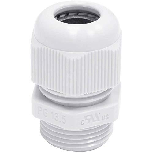 2X 5 Stueck PG21 Schwarz Kunststoff Wasserdichte Kabelverschraubungen Gelenk GY