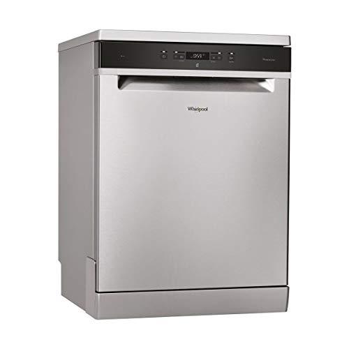 Lave vaisselle 60 cm Whirlpool WFC3C22PX - Lave vaisselle Inox - Classe énergétique A++ / Affichage temps restant - Départ différé