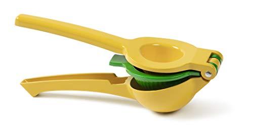 IBO Exprimidor de Limones y Citricos Aluminio Anticorrosivo Grado Alimenticio Manual Lemon Squeezer Amarillio