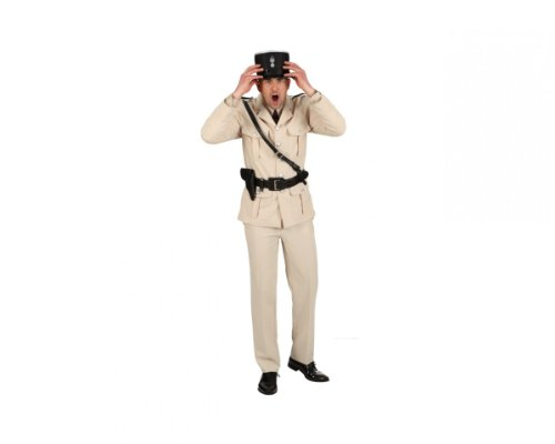 Französischer Polizist Jacke Hose, Größe:46-48