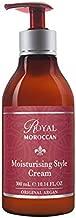 Royal Moroccan Formula - Moisturizing Style Cream (300 ml) - Base of Moroccan Argan oil, For color – Treated Hair