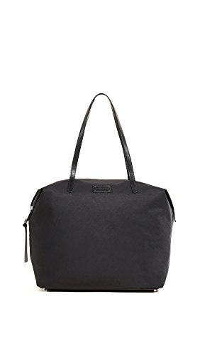 Rebecca Minkoff Women's Nylon Tote, Black, One Size