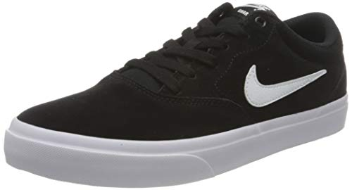 Nike Herren SB Charge Suede Walking Shoe, Black/White-Black, 46 EU