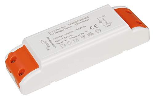 McShine - dimmbarer, elektronischer Halogen-Trafo | 10-105W | Eingang 230V -> Ausgang 12V | dimmbar (10-105 Watt)