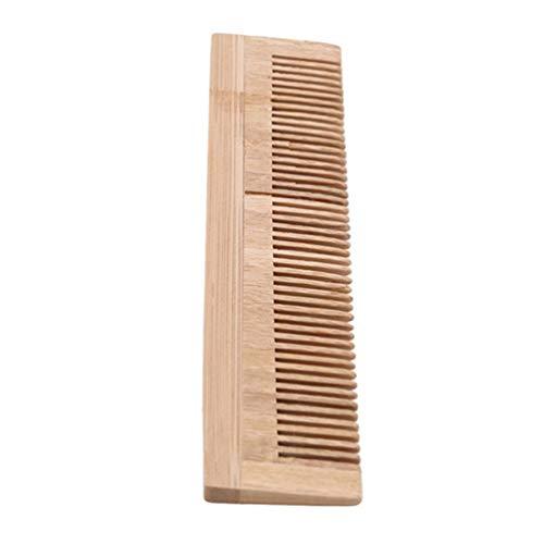 KYMLL Massage Peigne en Bois Pinceau en Bambou pour Brosse à Cheveux Brosses Soins des Cheveux et Peigne de beauté