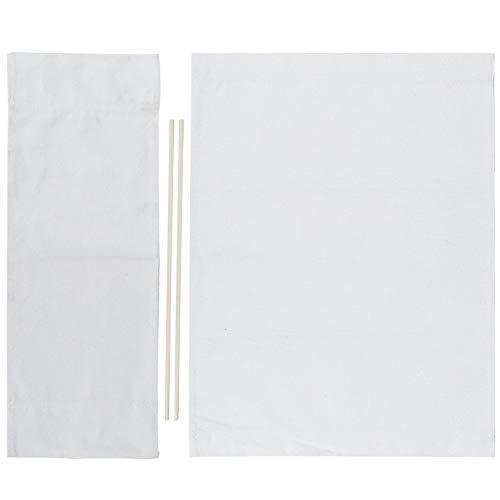 Cikonielf 1 Juego De Silla De Director De Repuesto De Tela Material para El Hogar Accesorios para Muebles (Blanco)