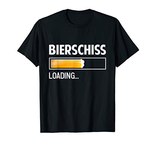 Herren T-Shirt Bierschiss - Saufen Bier Malle Witz Geschenk Spruch