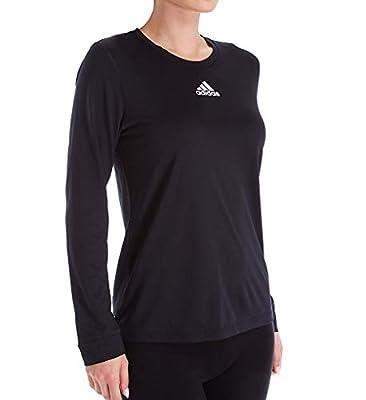adidas Creator Long Sleeve Top - Women's Training 2XL Black/White