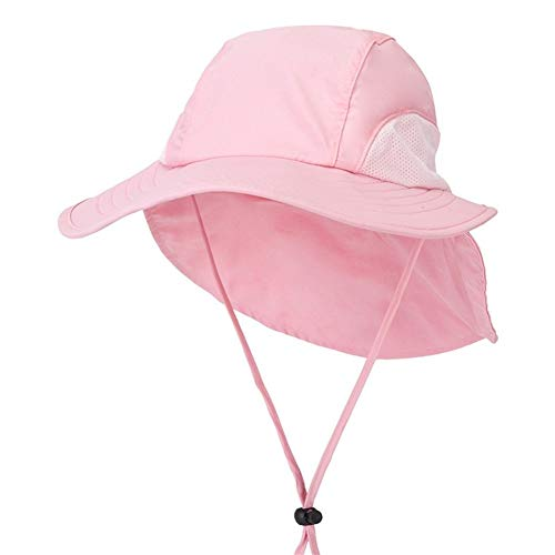 SHANG-JUN Sombrero de Sol La Sra Secado rápido Gran Sombrero de ala Ancha Sombrero for el Sol Pesca Montar al Aire Libre Sombrero de Hombres (Color : A)