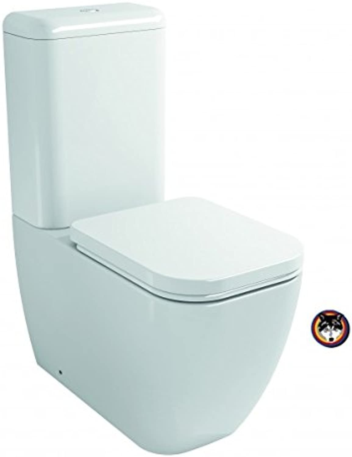 Sterling Stand-WC Kombination Toilette mit Softclose-Sitz TakeOff