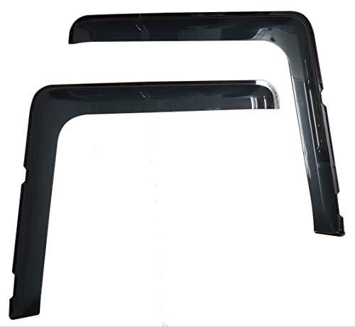 PERFLEX Set Windabweiser Regenschutz Fenster Seite Windabweiser für LKW R Dekoration Zubehör