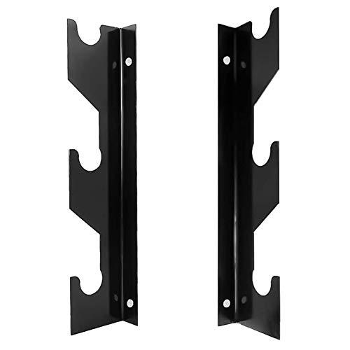 Aoneky Barbells Rack Holder - Wall Mount Barbells Hanger - Barbells Storage Equipment for Home Gym Fitness Exercise