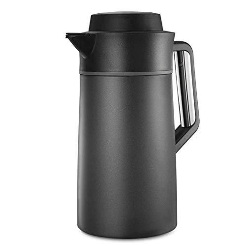 Z-Color Hervidor de vacío para el hogar 304 Acero Inoxidable Al vacío Cafetera aislada de café Al Aire Libre Capacidad Grande Hervidor, Jugo/Leche/Maceta de Aislamiento de té