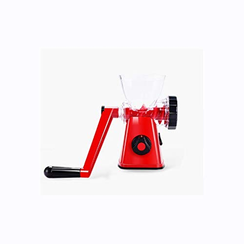 ZZWZM Manual Meat Grinder-Heavy Duty Hand Operated Manual Meat Grinder Kitchen Sausage Beef Mincer Maker