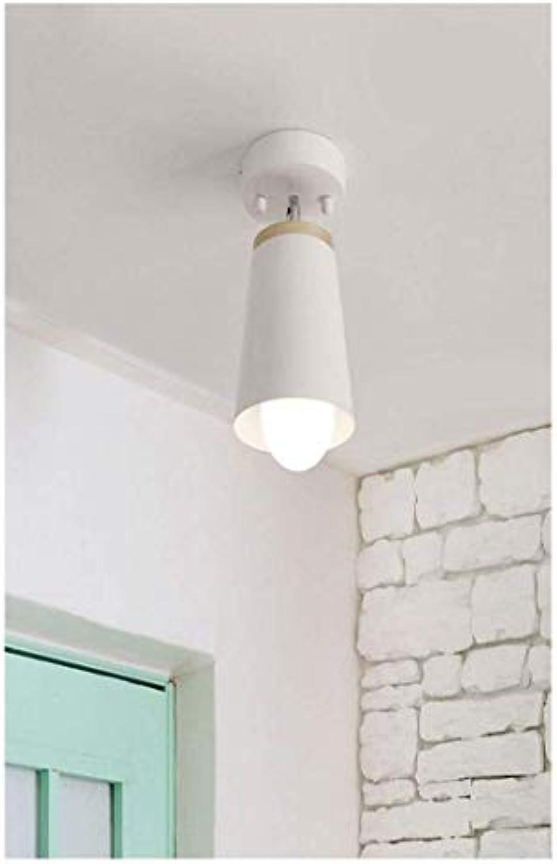 HBLJ Decke Lamplamp Nachttischlampe Gang Balkon Küche und WC Beleuchtung Eingangslampen und Laternen (Farbe  Wei)