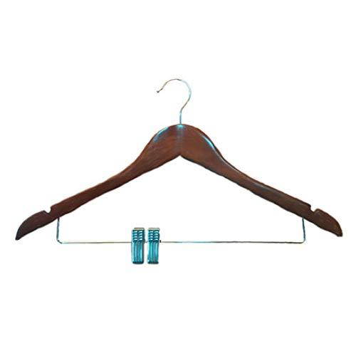 LIUQIAN Kleiderbügel Kleiderständer Retro solide Holz Männer Kleidung Shop Adult Vorratshaltung Winddicht Anti-Rutsch