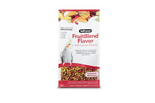ZuPreem - Alimento para Aves FruitBlend | Pienso Agapornis y Ninfas - 400 g