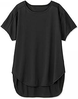 [ダンスキン] ロングTシャツ JACQUARD TECH L/L TEE レディース