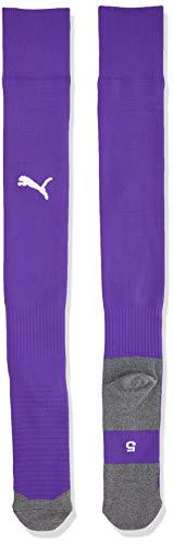 Puma Team Liga Socks Core, Calzettoni Calcio Unisex-Adulto, Viola (Prism Violet/White), 3