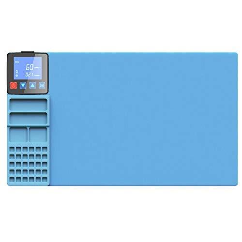 AmandaJ Almohadilla térmica CPB, Separador de Pantalla LCD rápido de Placa, Herramienta de reparación de máquina separadora Segura para iPad Compatible con Pad Smartphone
