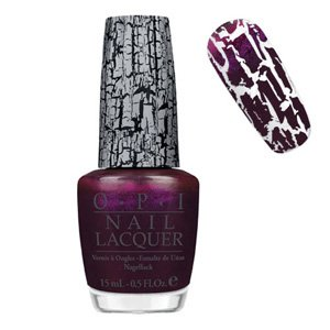 O.P.I Shatter Nail Polish/Varnish -Purple Super Bass-Nicki Minaj Collection- Fullsize 15ml